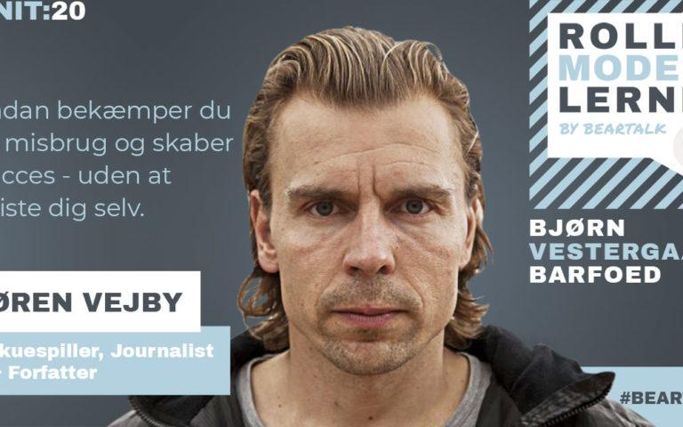 #20 Søren Vejby – Sådan bekæmper du et misbrug og skaber succes – uden at miste dig selv.